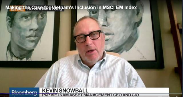 Ông Snowball tin rằng Việt Nam đáp ứng đủ yêu cầu của MSCI