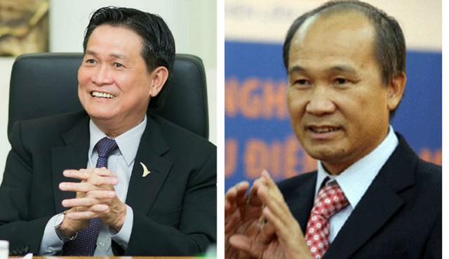 Hai ông trùm trong cả 2 lĩnh vực: tài chính ngân hàng và bất động sản.