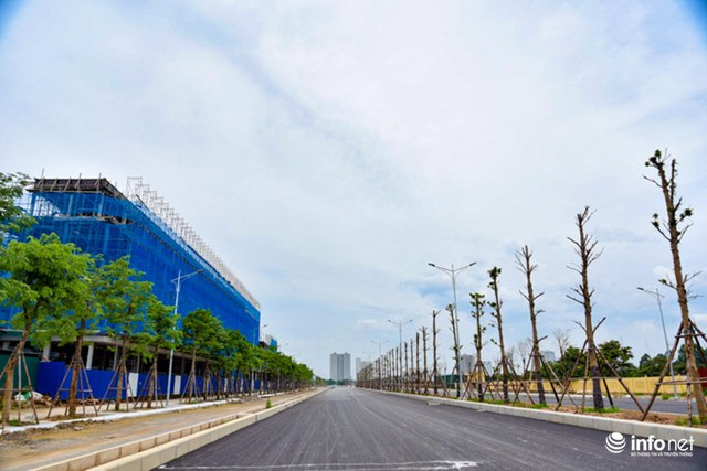 Tuyến còn lại là đường kết nối nằm trong khu đô thị cạnh đường Nguyễn Xiển.