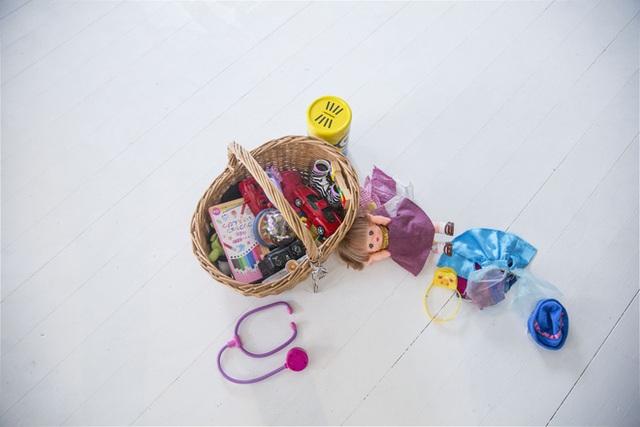 Giỏ đồ chơi của Ei