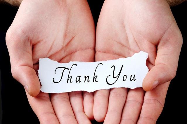 Sống trên đời, được giúp đỡ là một điều may mắn. Thế nên, mỗi chúng ta khi nhận được sự hỗ trợ từ người khác, cần phải học chữ biết ơn.