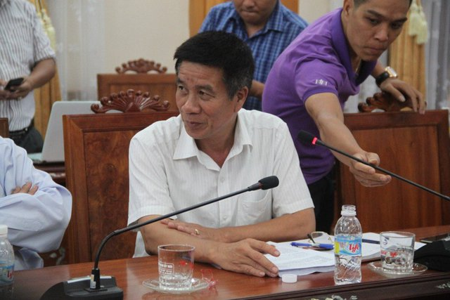 Ông Bùi Hữu Hùng, Phó giám đốc công ty TNHH MTV Nam Triệu nhận lỗi sau sự cố tàu vỏ thép do công ty đóng gặp hư hỏng
