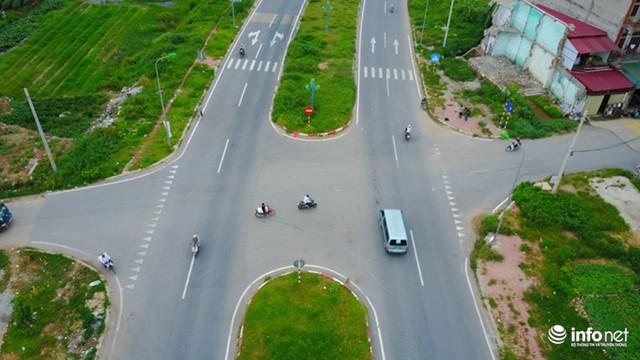 Nhiều đoạn nút giao ngã tư hoàn toàn không có đèn tín hiệu giao thông.