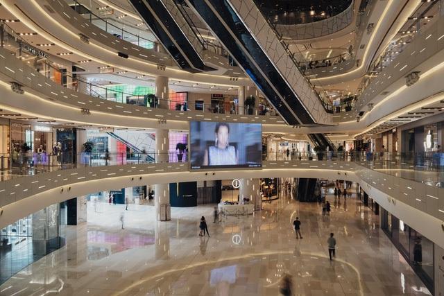 Trung tâm mua sắm IAPM ở trung tâm Thượng Hải