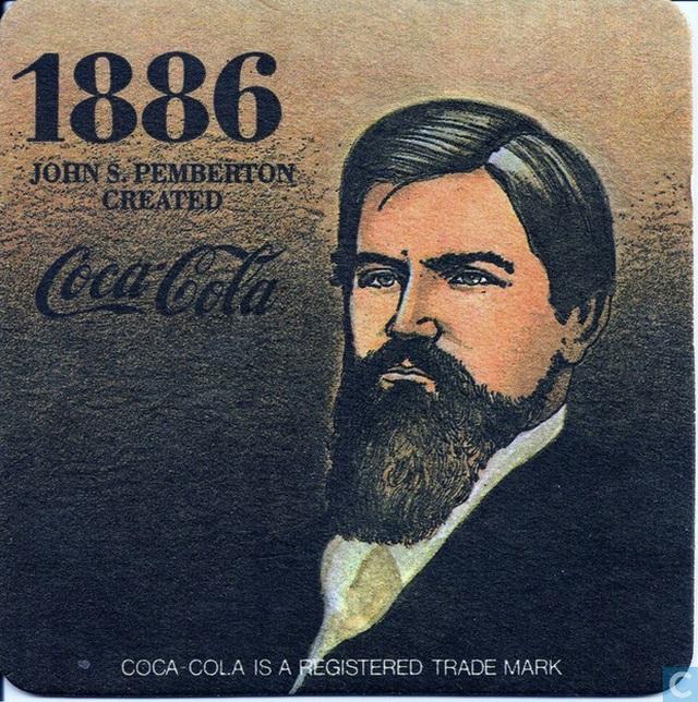 Chân dung dược sĩ John Pemberton, nhà phát minh vĩ đại nhờ cơn đau đầu của mình.