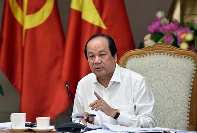 Bộ trưởng, Chủ nhiệm VPCP Mai Tiến Dũng không hài lòng về lập luận của Cục trưởng Nguyễn Thanh Phong