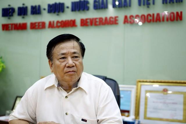 Ông Nguyễn Văn Việt, Chủ tịch Hiệp hội Bia, rượu, nước giải khát Việt Nam (Ảnh: Doãn Đức/Vietnam+)