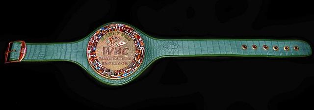 Chiếc đai được đặt tên Money Belt, hoàn toàn tương xứng với tính chất của trận đấu có-1-không-2 này