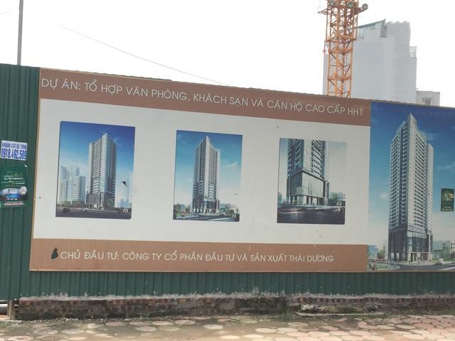 Dự án đã được chuyển nhượng cho chủ đầu tư mới là Công ty Thái Dương.