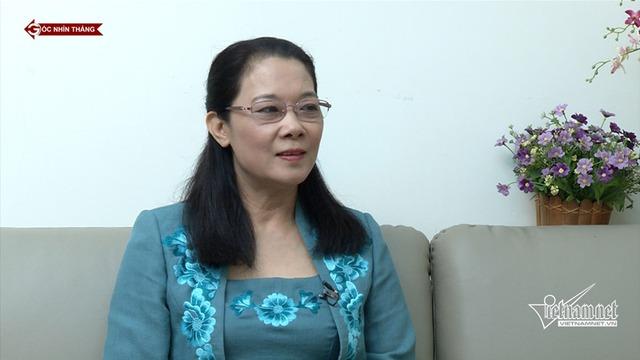 Bà Nguyễn Thị Bích Ngà, Uỷ viện Uỷ ban Kiểm tra Trung ương chia sẻ với Góc nhìn thẳng về kỷ luật ông Nguyễn Xuân Anh (ảnh: VietNamNet)