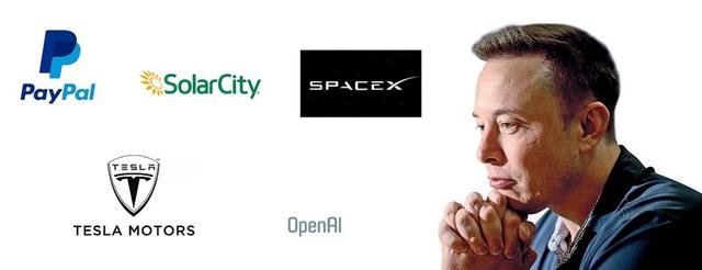 Elon Musk liên tục khởi nghiệp khi thành lập hàng loạt công ty mới.