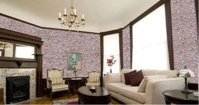Sơn tường tơ lụa còn có thể sử dụng trên nhiều chất liệu khác nhau như: tường, gỗ, nhôm, kính.