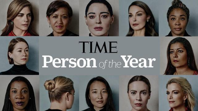 Những gương mặt tiêu biểu của phong trào #MeToo (Nguồn: Time).