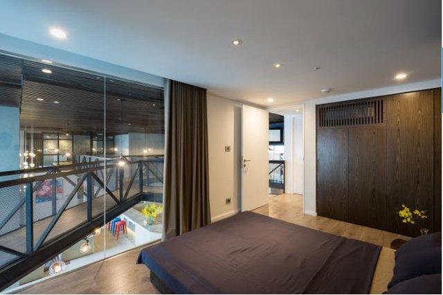 Một phòng ngủ khác trong căn hộ.