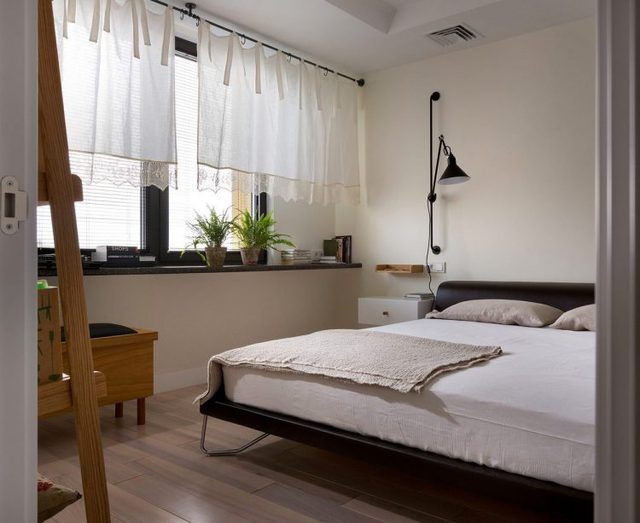 Không gian nghỉ ngơi riêng tư được bố trí riêng một phòng nhỏ.