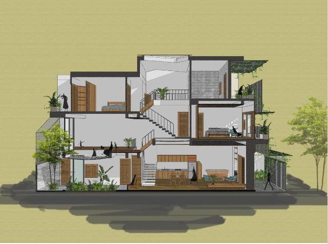 """Ngôi nhà ống đẹp như """"Resort"""" ở Nha Trang xuất hiện trên báo Mỹ - Ảnh 22."""