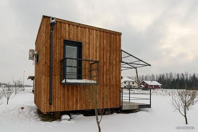 Ngôi nhà nhỏ của cặp vợ chồng trẻ người Belarus rất đáng để được mọi người học hỏi.