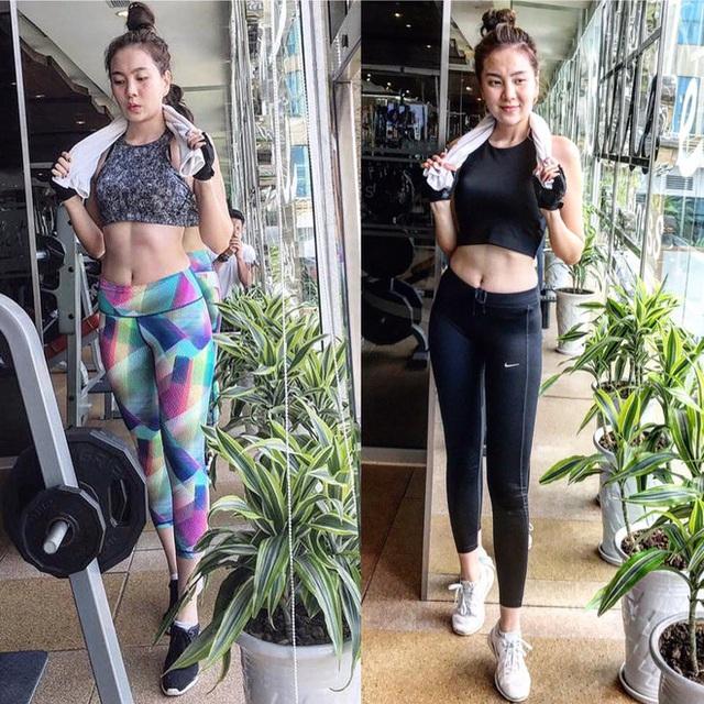 Ngoài giờ đi dẫn, quản lý shop thời trang, lúc rảnh rỗi, nữ MC thường đi tập gym giữ dáng.