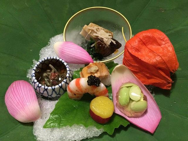 Nhà hàng Kitcho Arashiyama Honten.