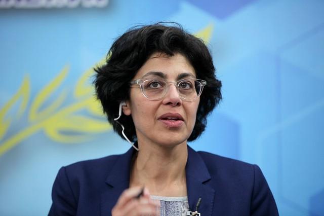 TS Sumila Gulyani, chuyên gia trưởng về chiến lược phát triển đô thị toàn cầu của Ngân hàng Thế giới chia sẻ tại Góc nhìn thẳng (ảnh: Lê Anh Dũng)