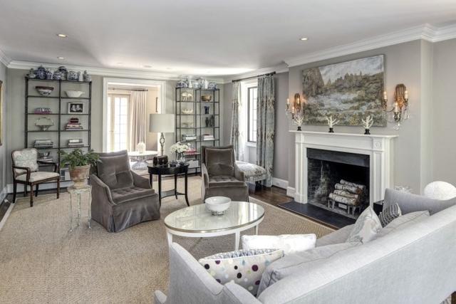 Căn nhà mới trị giá 4,3 triệu USD của ông Obama có 9 phòng ngủ với nhiều phòng chức năng khác. (Ảnh: Daily Mail)