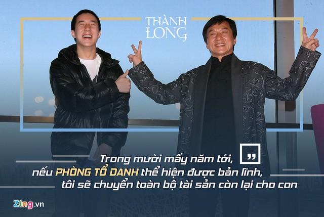 Thành Long vẫn đặt niềm tin vào con trai dù Phòng Tổ Danh từng bị bắt vì chơi ma túy.