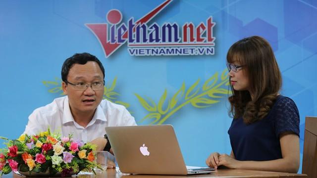 Ông Khuất Việt Hùng: Xe máy đâu có lỗi! (ảnh: Lê Anh Dũng)