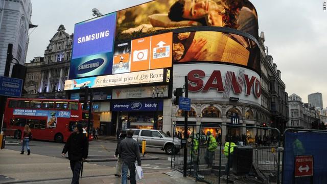 Sanyo từng sở hữu bất động sản tại một điểm du lịch nổi tiếng của Luân Đôn, Anh.