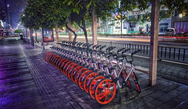 Chỉ cần vài thao tác đơn giản với ứng dụng di động là có thể thuê xe đạp với giá rất rẻ.