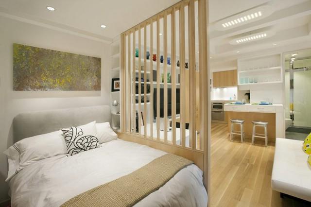 Có quá nhiều chức năng được hội tụ cùng một nơi, do đó, thiết kế nội thất trong nhà buộc phải rất đa năng và sử sụng không gian hiệu quả.