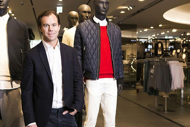 Karl-Johan Persson, chủ tịch kiêm CEO của H&M.