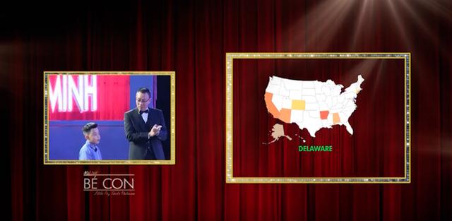 Khoa Minh kể vanh vách các tiểu bang của Mỹ, Úc, Canada.