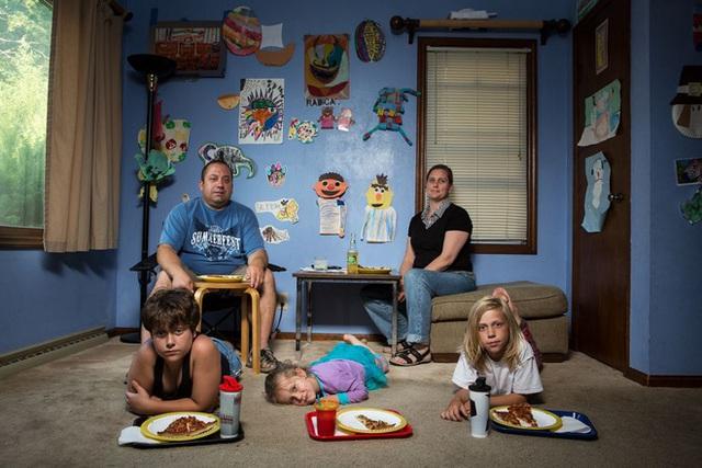 Người Mỹ trưởng thành thích tự do trong việc ăn uống khi họ còn trẻ hay đang nuôi dạy con trẻ.