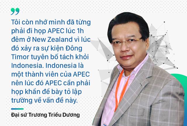 Người Việt Nam đầu tiên dự APEC kể về bản đề án viết trong 2 tuần và cuộc họp lúc 1h đêm - Ảnh 4.