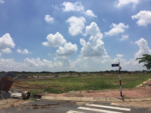 Một dự án đất nền tại Long An