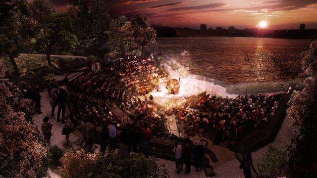 Đây sẽ là nơi tổ chức các buổi biểu diễn trong nhà hát 700 chỗ ngồi, đa số sẽ được miễn phí hoặc giá rẻ.