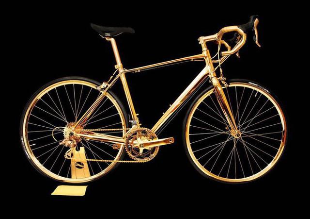 Chiếc xe đạp này có giá không thua kém bất kỳ chiếc xế sang nào đâu nhé.