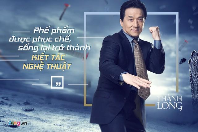 Ngoài tuổi lục tuần, Thành Long vẫn nuôi mộng lớn với điện ảnh.