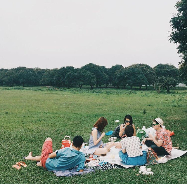 Vườn Nhãn là địa điểm lý tưởng cho những chuyến pinic cùng bạn bè (@quangwang)