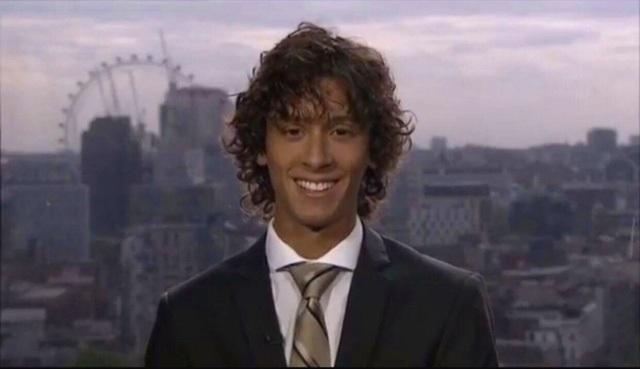 Khi 16 tuổi, chưa hoàn thành chương trình học A levels, anh đã xuất hiện trên đài Sky News và sau đó ký hợp đồng với nhiều đài khác với tư cách chuyên gia phân tích hàng không trên truyền hình. Anh quyết định chỉ đi học bán thời gian để mình có thể cống hiền nhiều hơn cho công việc.
