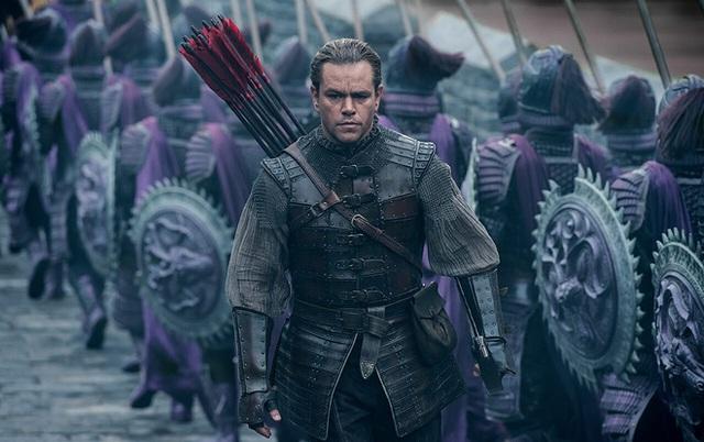 Matt Damon vào vai lính đánh thuê trong bom tấn Tử chiến Trường thành do Le Vision Pictures sản xuất