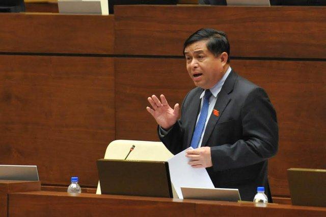 Bộ trưởng Nguyễn Chí Dũng. Ảnh: Hoàng Anh