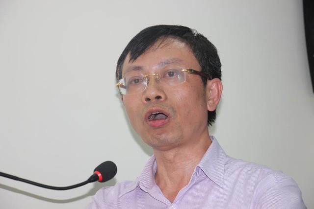 Ông Đào Hồng Đức- Giám đốc Trung tâm đăng kiểm tàu cá, Tổng cục Thủy sản