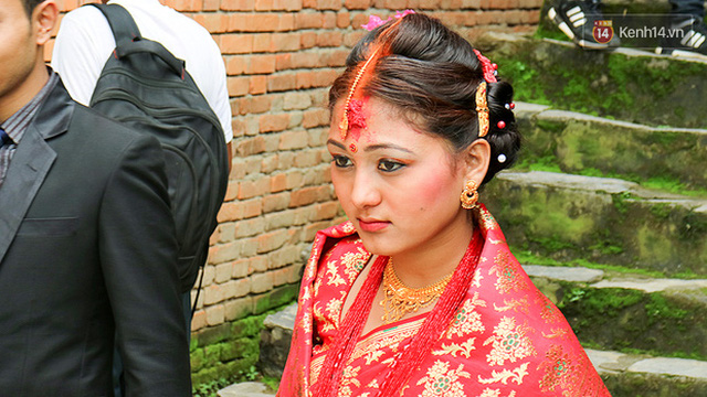 Cô dâu Nepal.