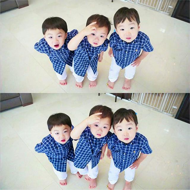 Theo Song Il Gook, biết chia sẻ là một trong những bài học quan trọng nhất với các con.