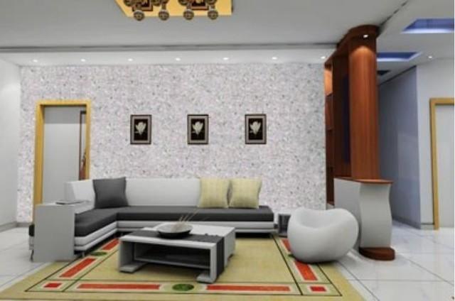 Không gian phòng khách trở nên khác biệt và bắt mắt cho bất cứ ai bước vào nhà bạn.