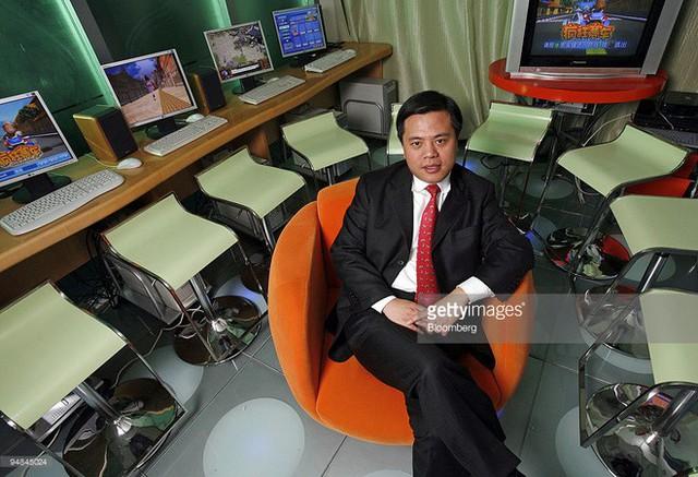 Ông Chen tại trụ sở công ti Shanda vào năm 2006.