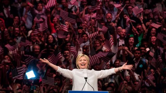 Hillary Clinton từng là hy vọng về một nữ tổng thống đầu tiên của nước Mỹ (Nguồn: Getty Images).