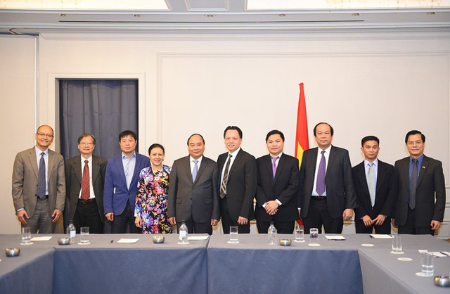 Thủ tướng cùng một số đại diện trí thức gốc Việt tại Mỹ