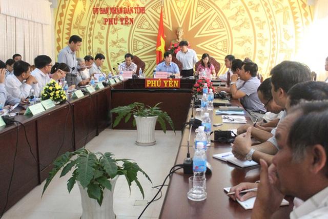 Cuộc họp báo tại Phú Yên ngày 2-6